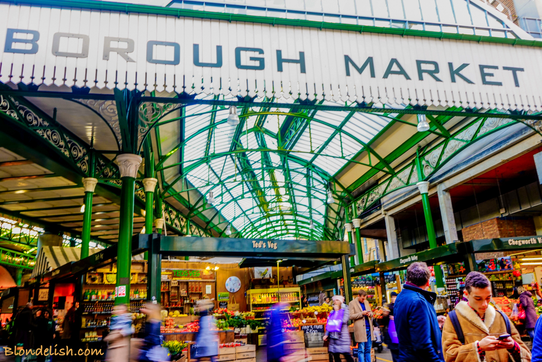 Borough Market; Recipes, Travel, Lifestyle by Blondelish