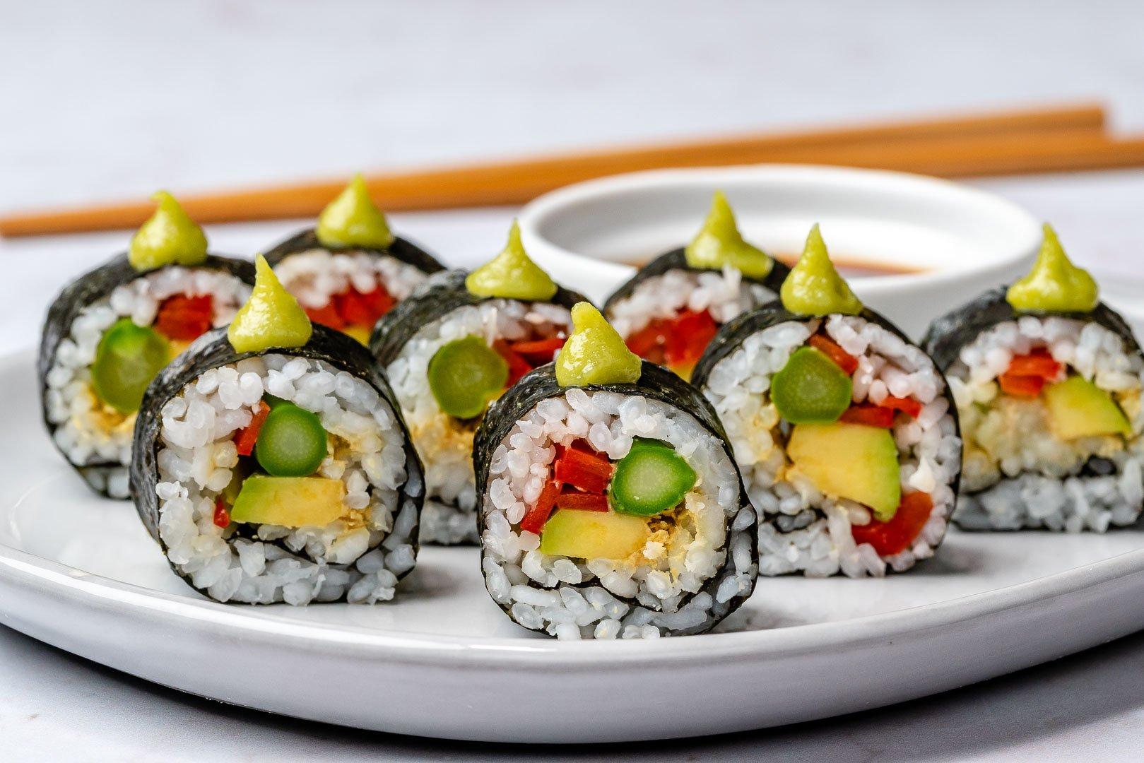 Cum Se Face Sushi Acasa - 4 Retete Simple De Sushi 12