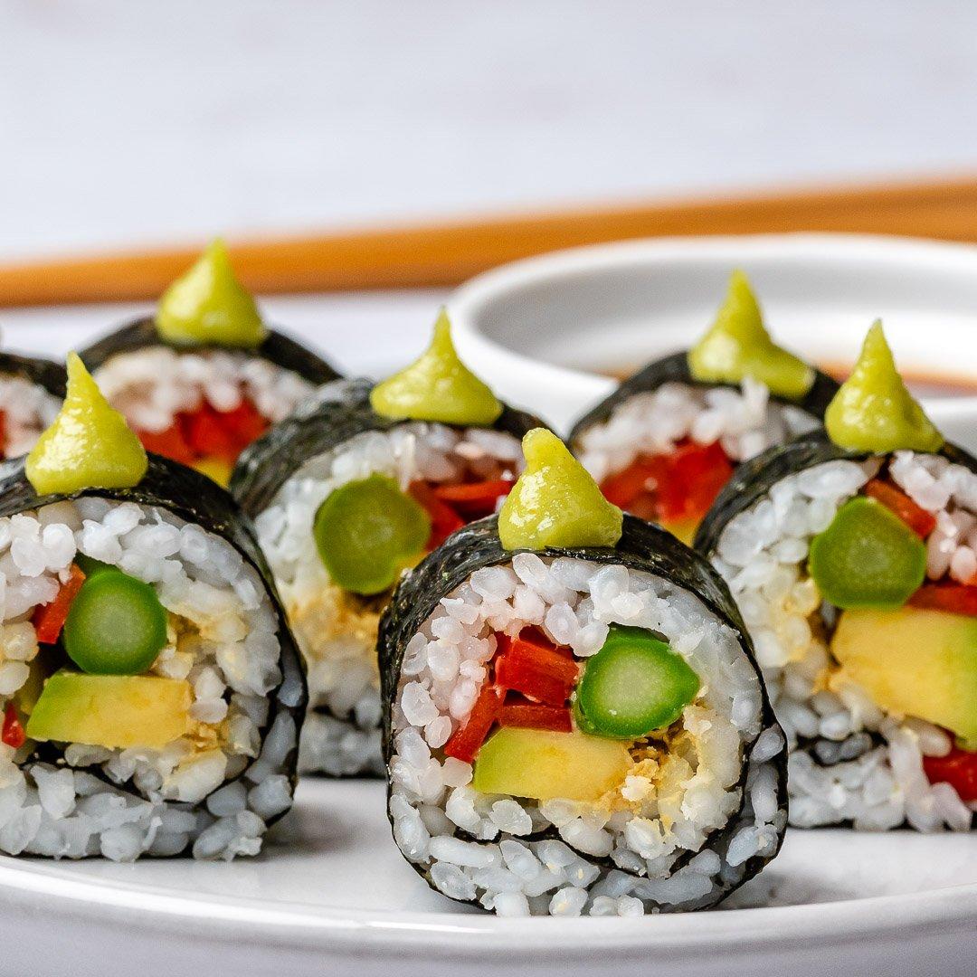 Cum Se Face Sushi Acasa - 4 Retete Simple De Sushi 13