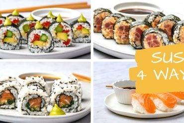 Cum Se Face Sushi Acasa - 4 Retete Simple De Sushi 18