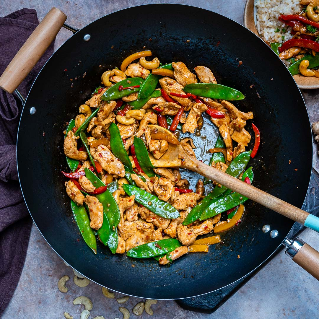 Easy Chicken Stir Fry Recipe (With Vegetables And Cashew