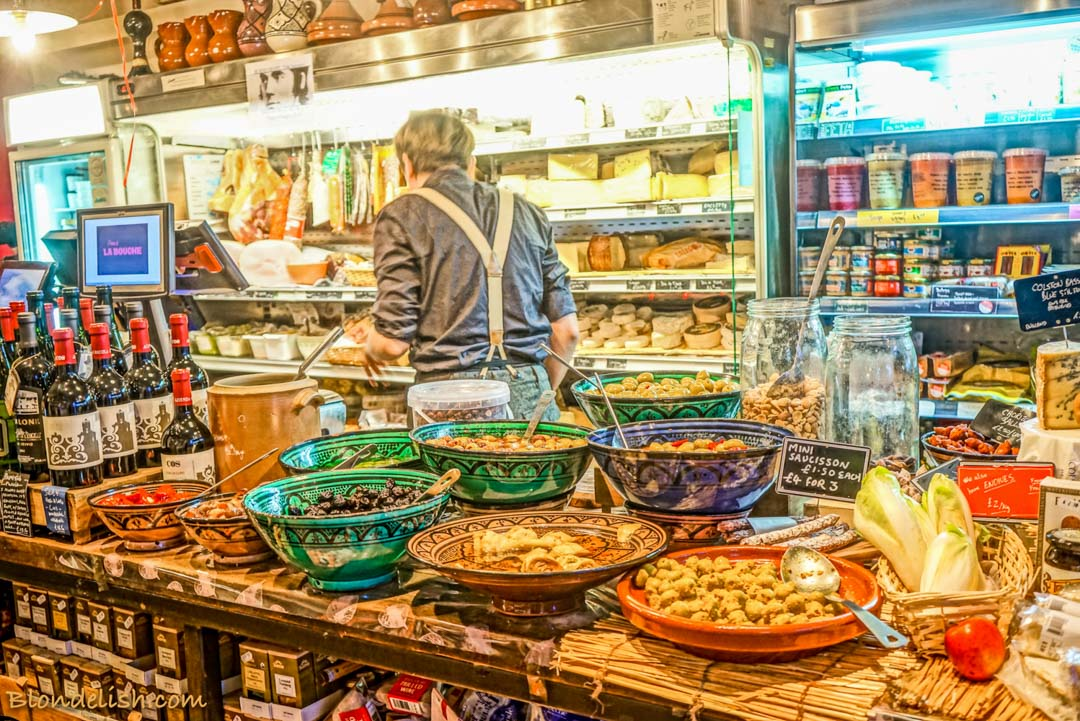 Deli in Broadway market, London; Recipes, Travel, Lifestyle by Blondelish