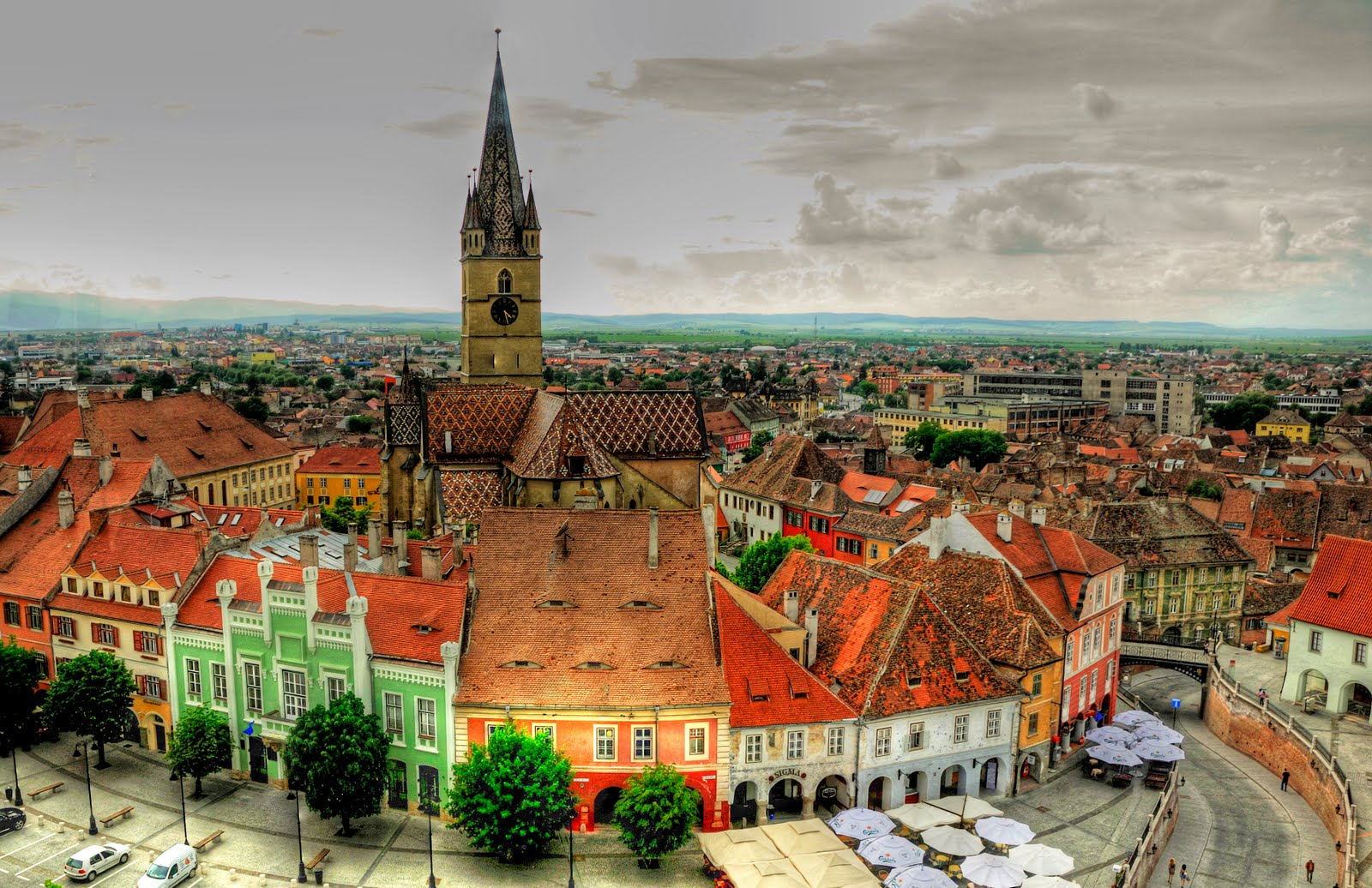 Travel to Sibiu, Transylvania