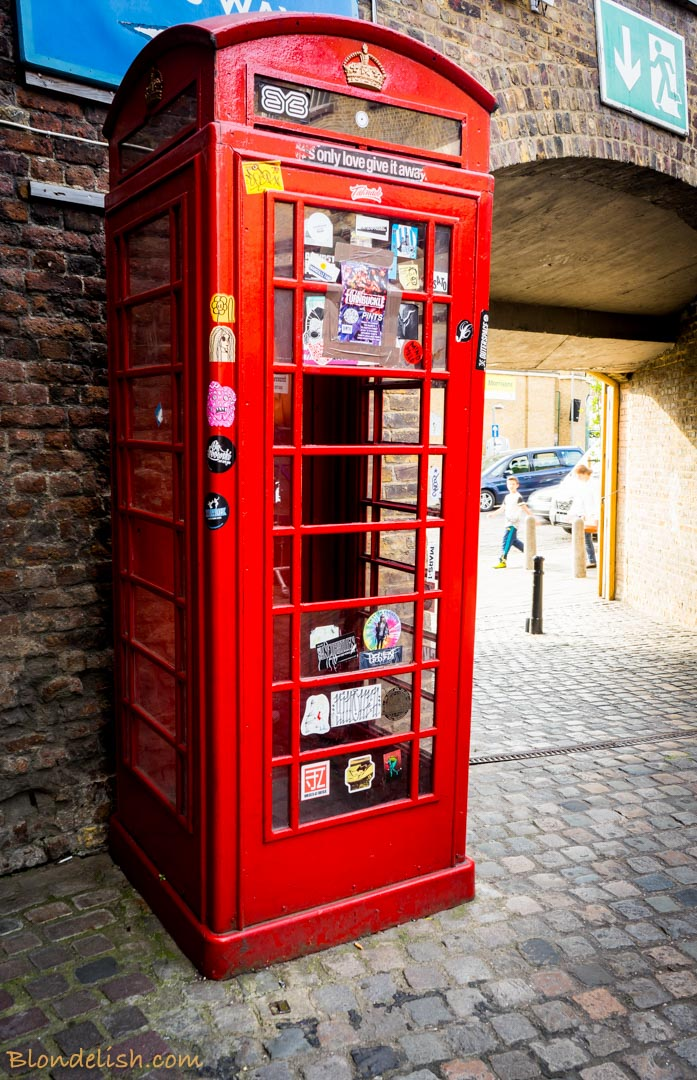 London Phone Booth, Recipes, Travel, Lifestyle by Blondelish