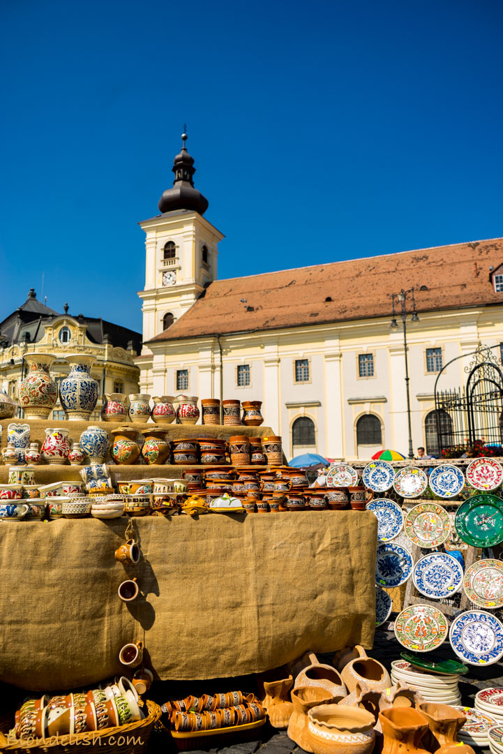 The Pottery Festival in Sibiu, Transylvania, Travel