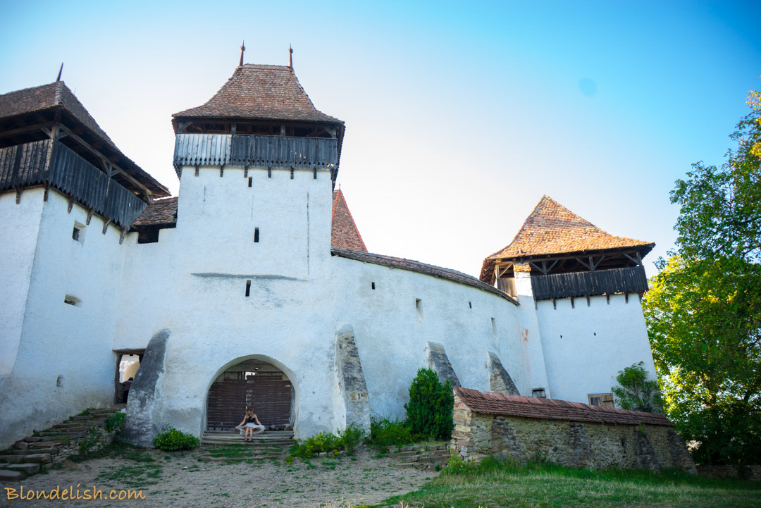 Fortified Church in Viscri, Transylvania, Travel to Romania