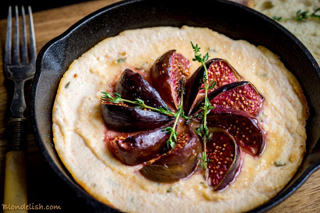 Blondelish Recipes Baked Ricotta With Honey Figs 106