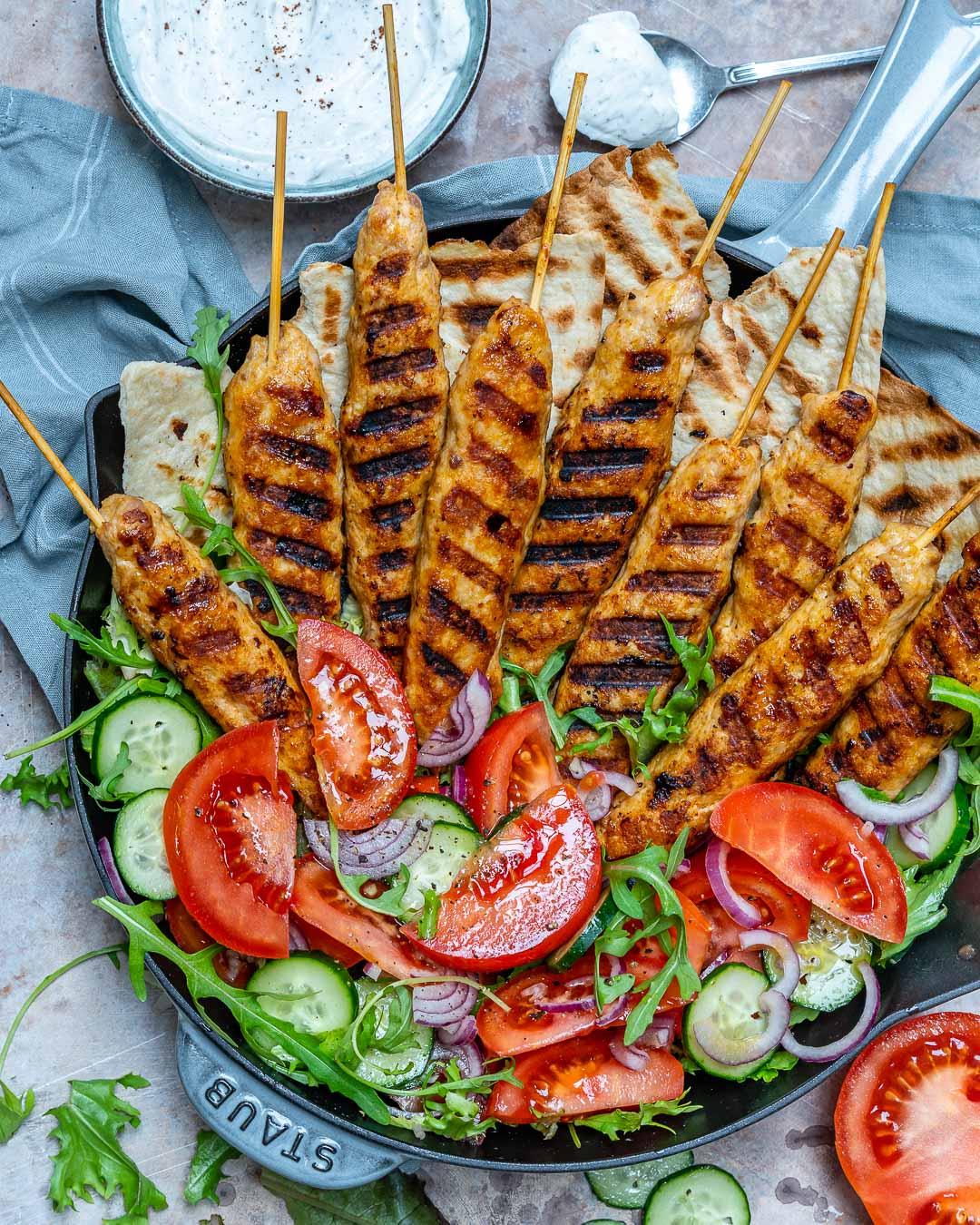 Kebab De Curcan Cu Sos De Iaurt Si Sumac 7