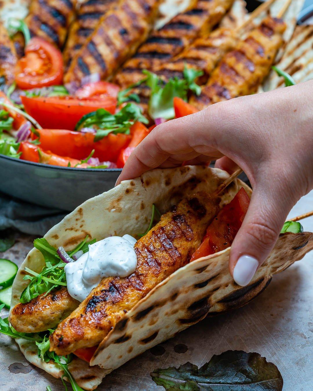 Kebab De Curcan Cu Sos De Iaurt Si Sumac 3