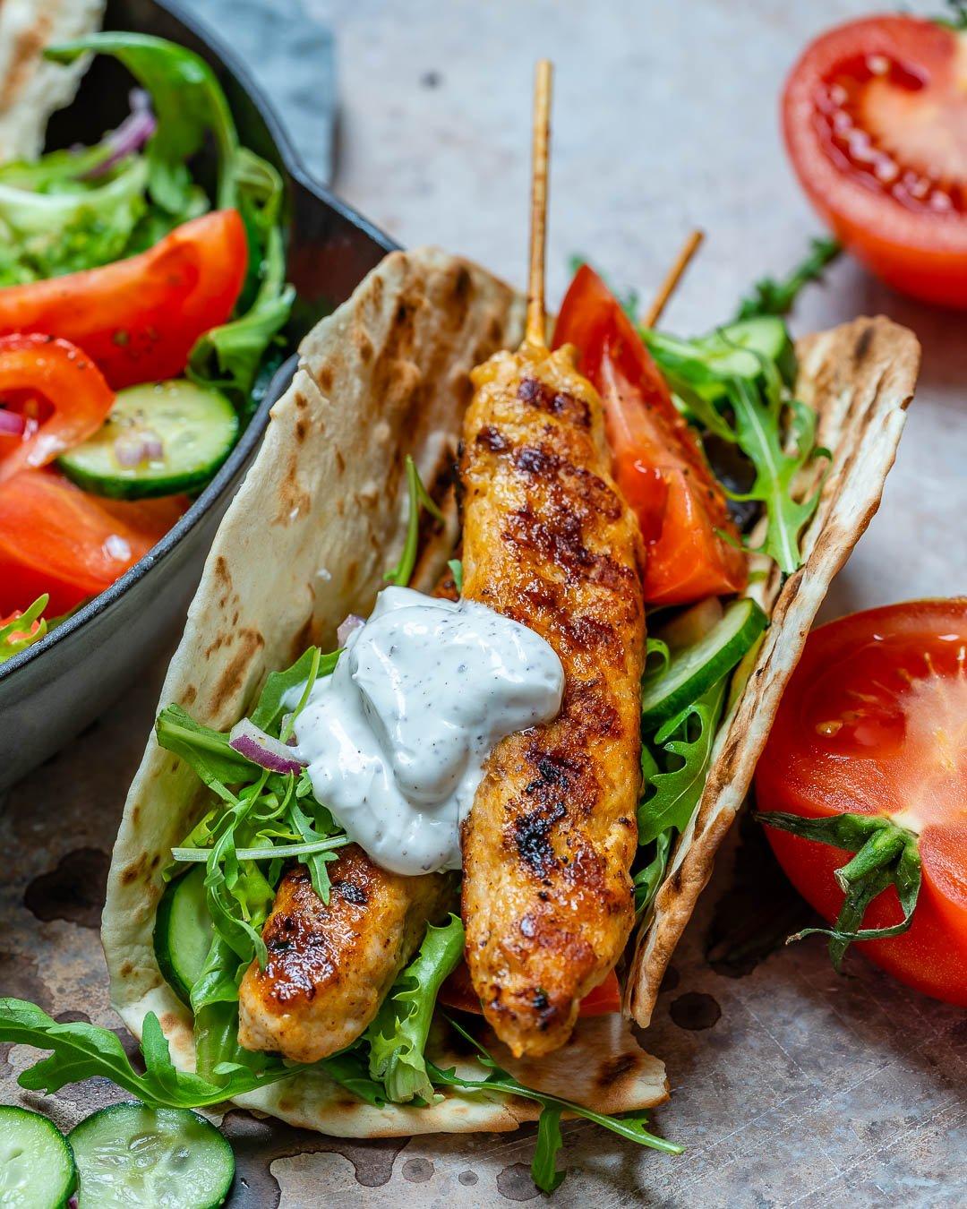 Kebab De Curcan Cu Sos De Iaurt Si Sumac 4