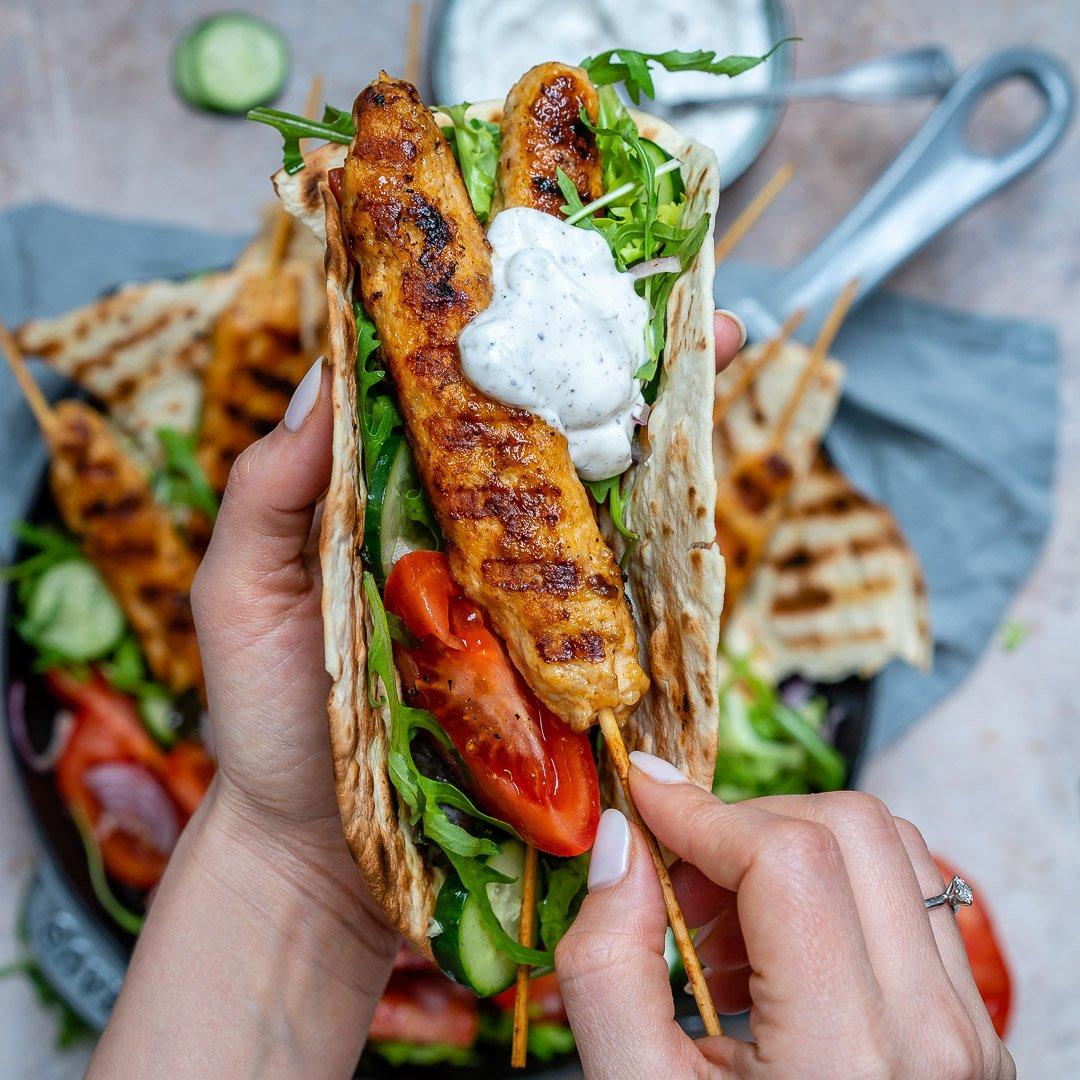 Kebab De Curcan Cu Sos De Iaurt Si Sumac 5