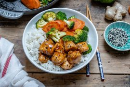 Easy Teriyaki Chicken With Rice And Vegetables Recipe-13