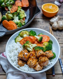 Easy Teriyaki Chicken With Rice And Vegetables Recipe-15
