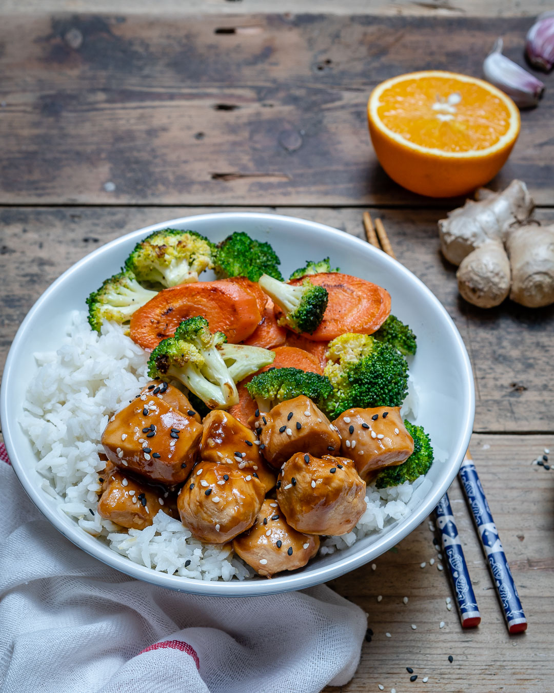 Easy Teriyaki Chicken Recipe: Easy Teriyaki Chicken With Rice And Vegetables