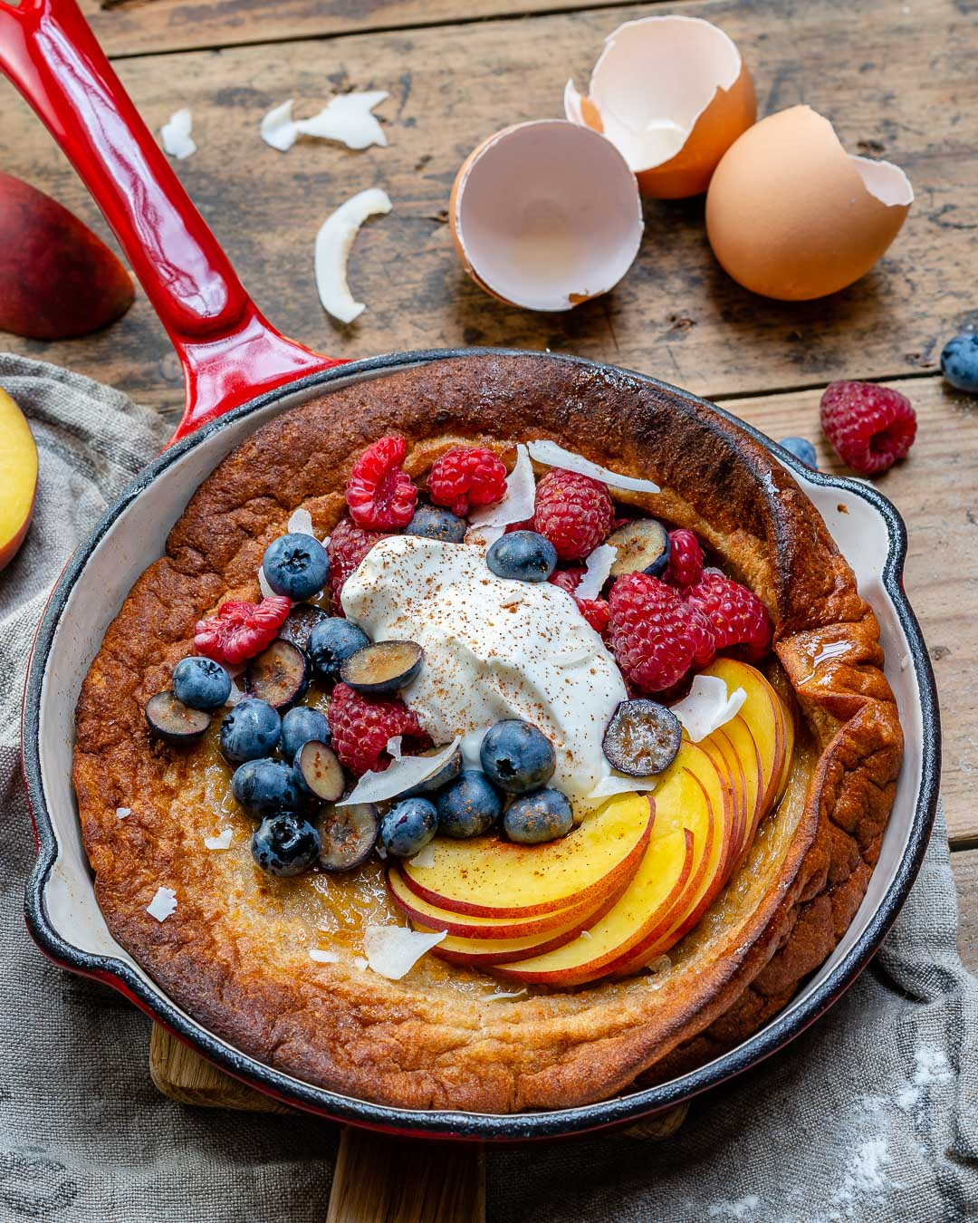 Easy Dutch Baby Pancake Recipe-5