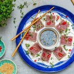 Seared Tuna Tataki Recipe (With Sesame And Soy Dressing)