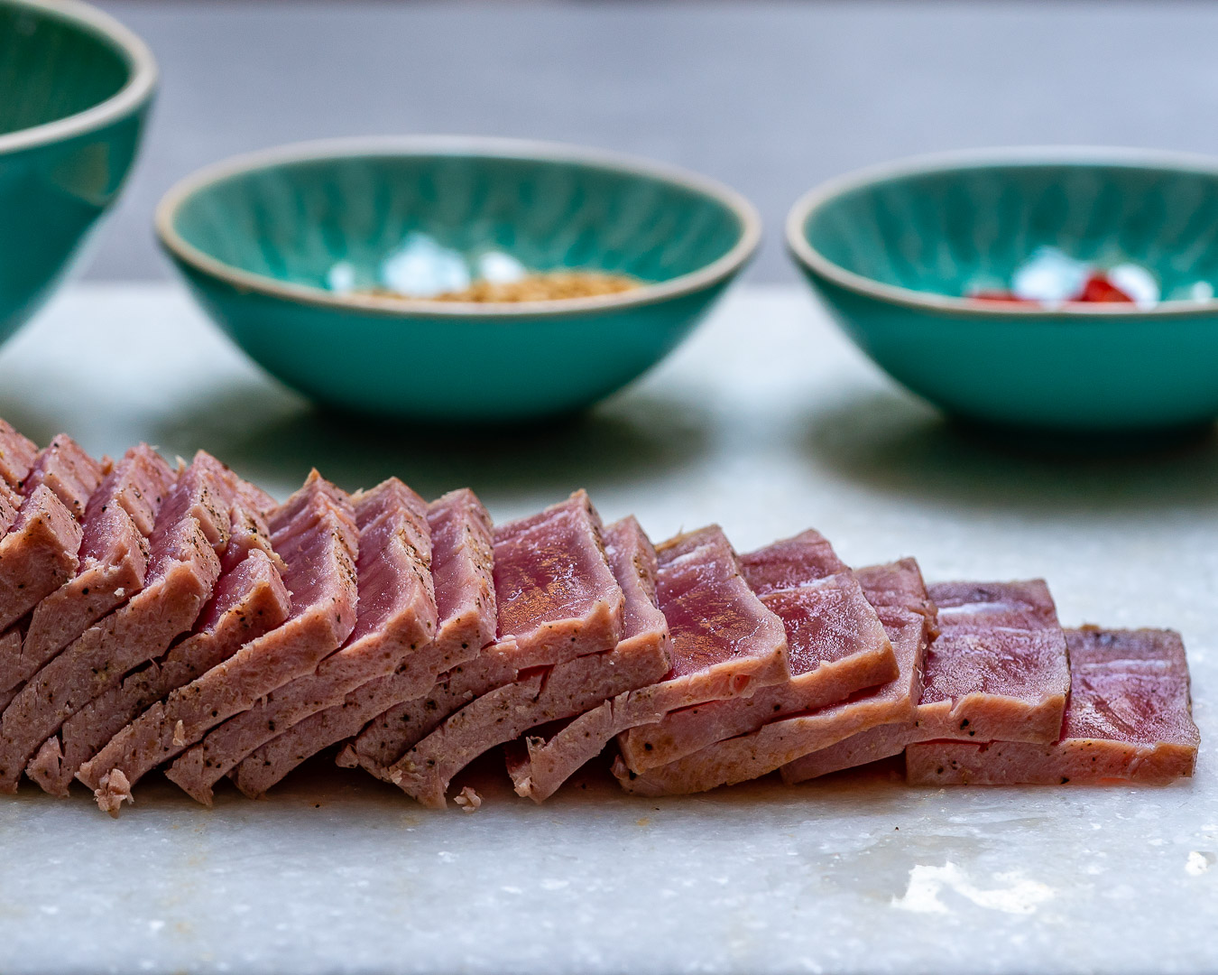 Seared Tuna Tataki Recipe (With Sesame And Soy Dressing)-2