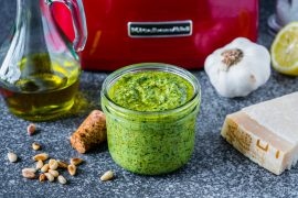 Homemade Basil Pesto Sauce Recipe 2