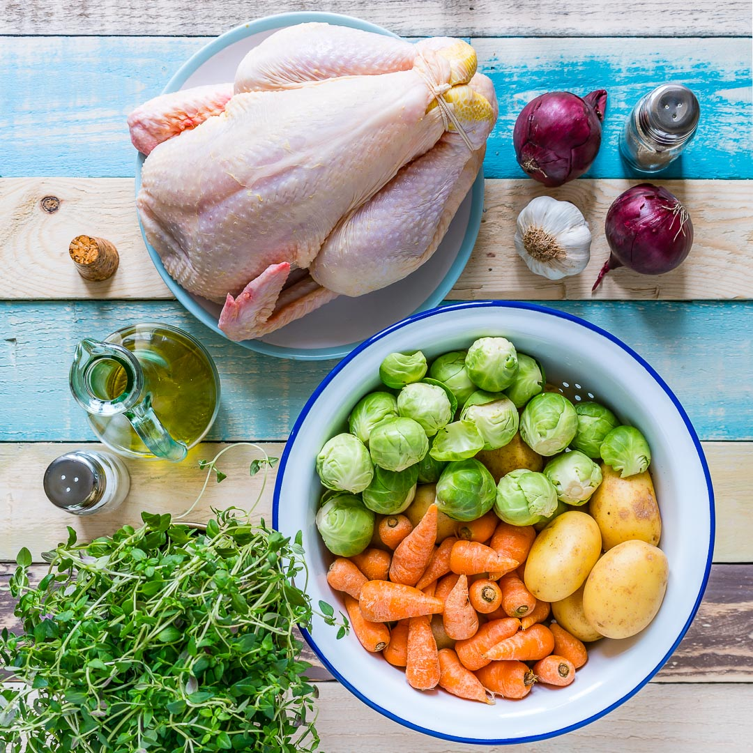 Whole Roasted Chicken And Veggies Recipe 1