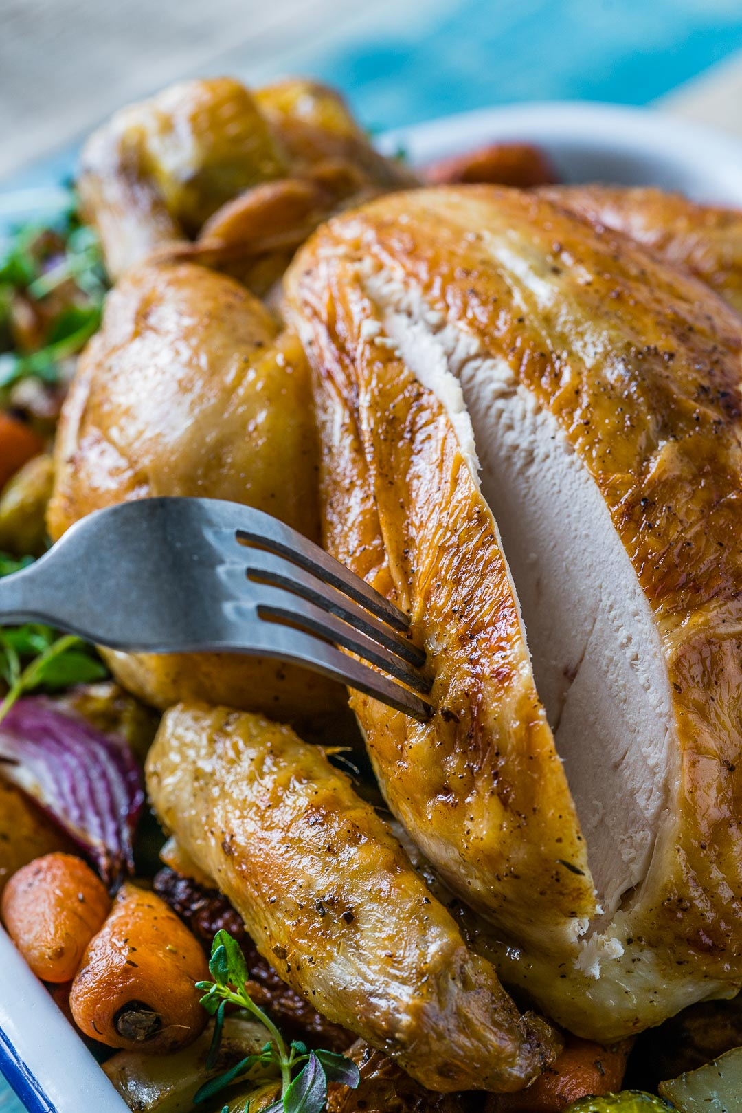 Whole Roasted Chicken And Veggies Recipe 4