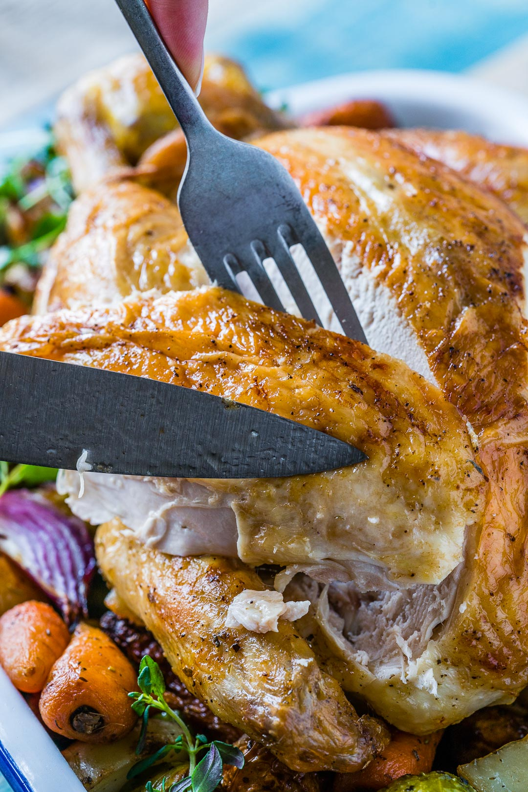 Whole Roasted Chicken And Veggies Recipe 5