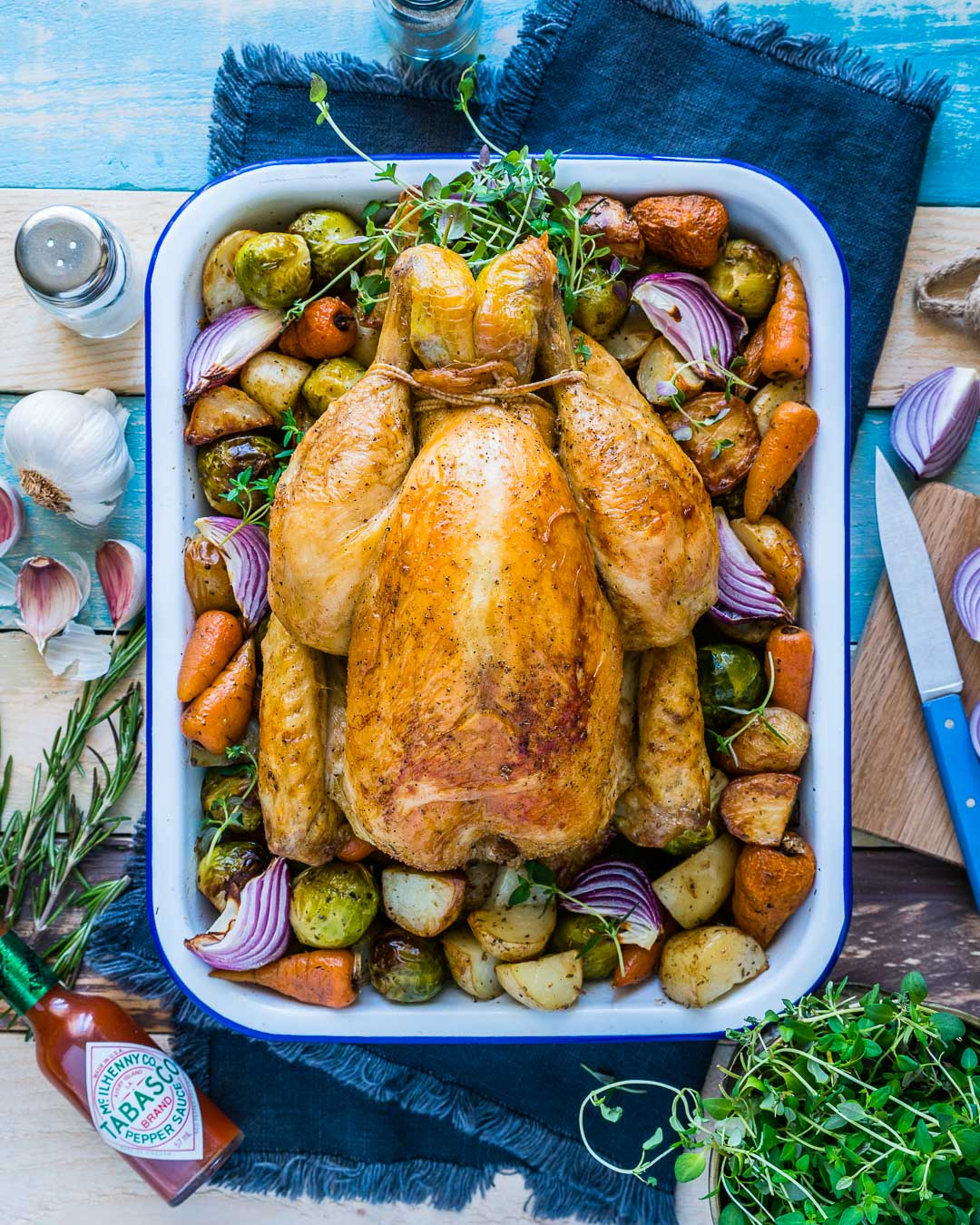 Whole Roasted Chicken And Veggies Recipe 2