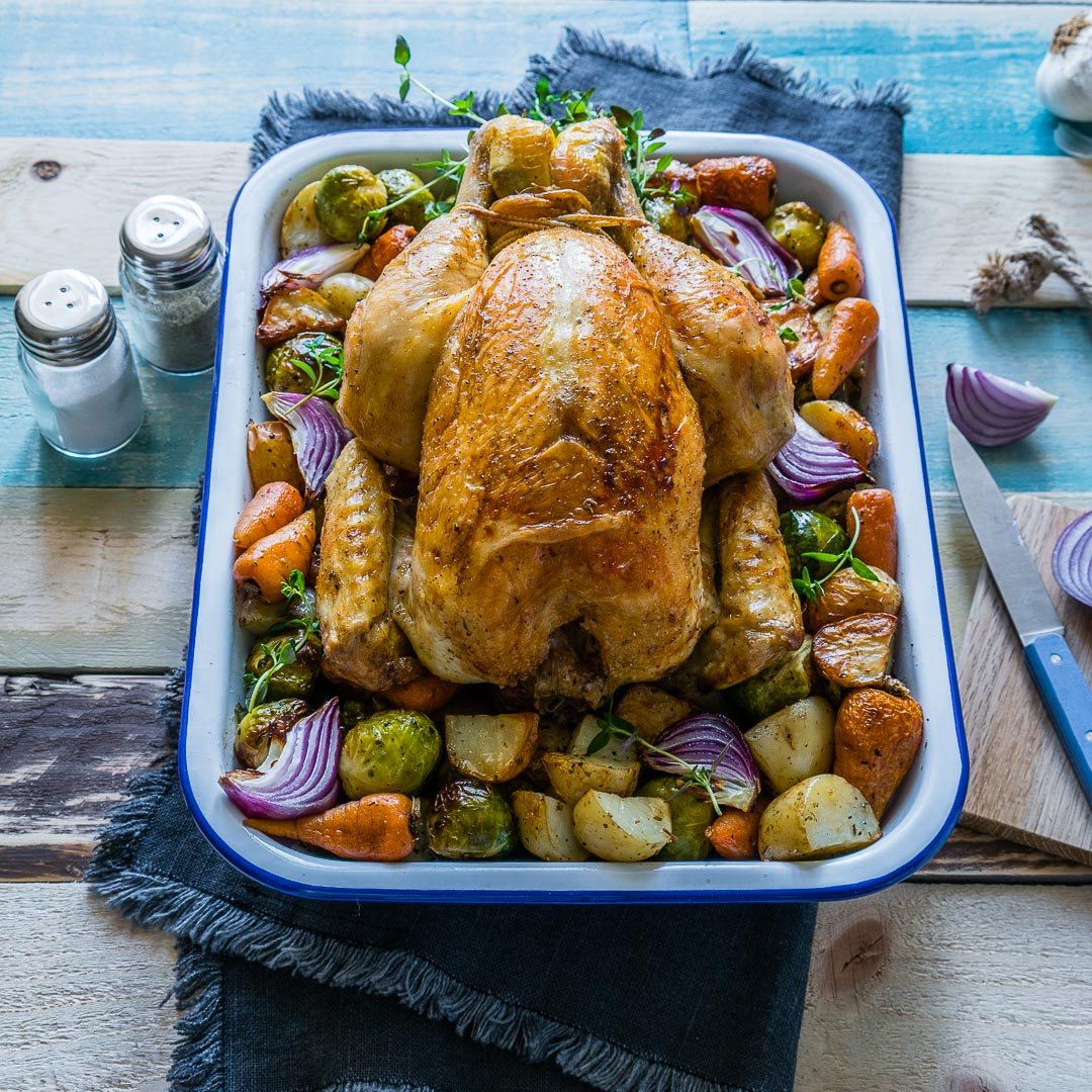 Whole Roasted Chicken And Veggies Recipe 7