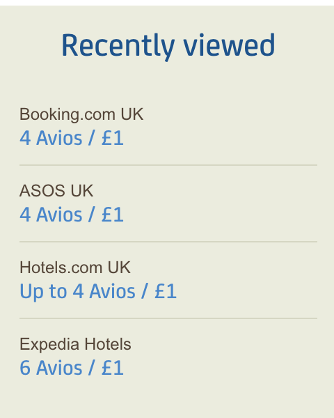 Earn Avios points to get cheap flights and flight discounts
