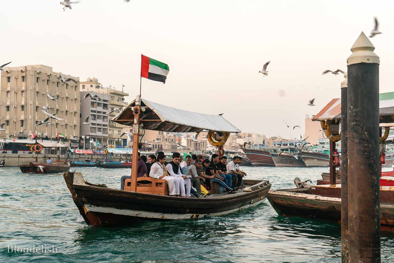 Dubai Abra Boats - Best Places to Visit in Dubai - Things to do in Dubai
