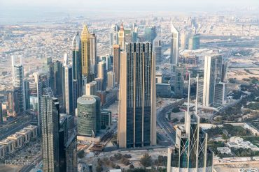View from Burj Khalifa - Best Places to Visit in Dubai - Things to do in Dubai