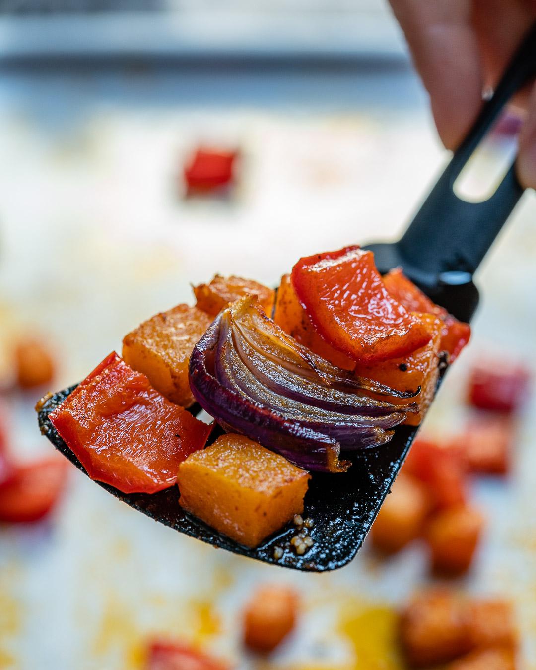Salata De Cuscus Cu Legume Coapte 7