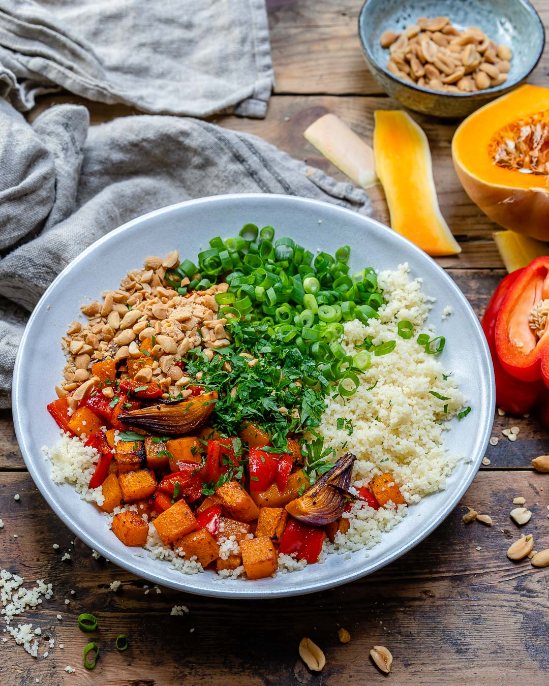 Vegan Couscous Salad With Roasted Veggies Recipe-6