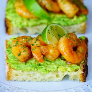 Garlic Shrimp Avocado Toast Recipe. Best Avocado Toast Recipes