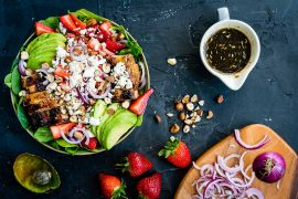 Best Strawberry and Avocado Chicken Salad Recipe