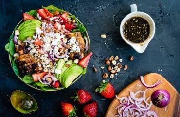Best Strawberry and Avocado Chicken Salad Recipe
