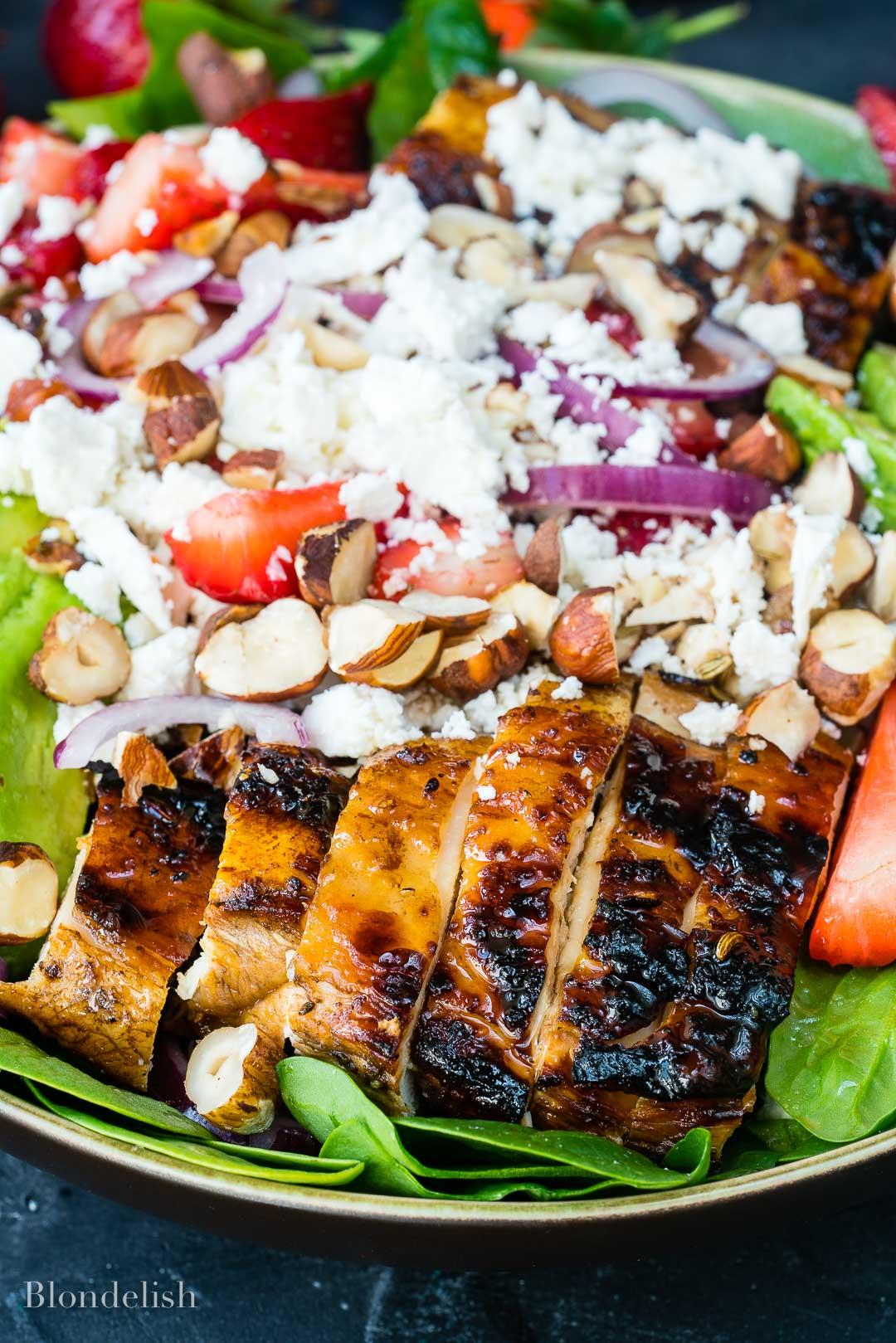 Best Strawberry and Avocado Chicken Salad Recipe 7 - How to make Chicken Salad