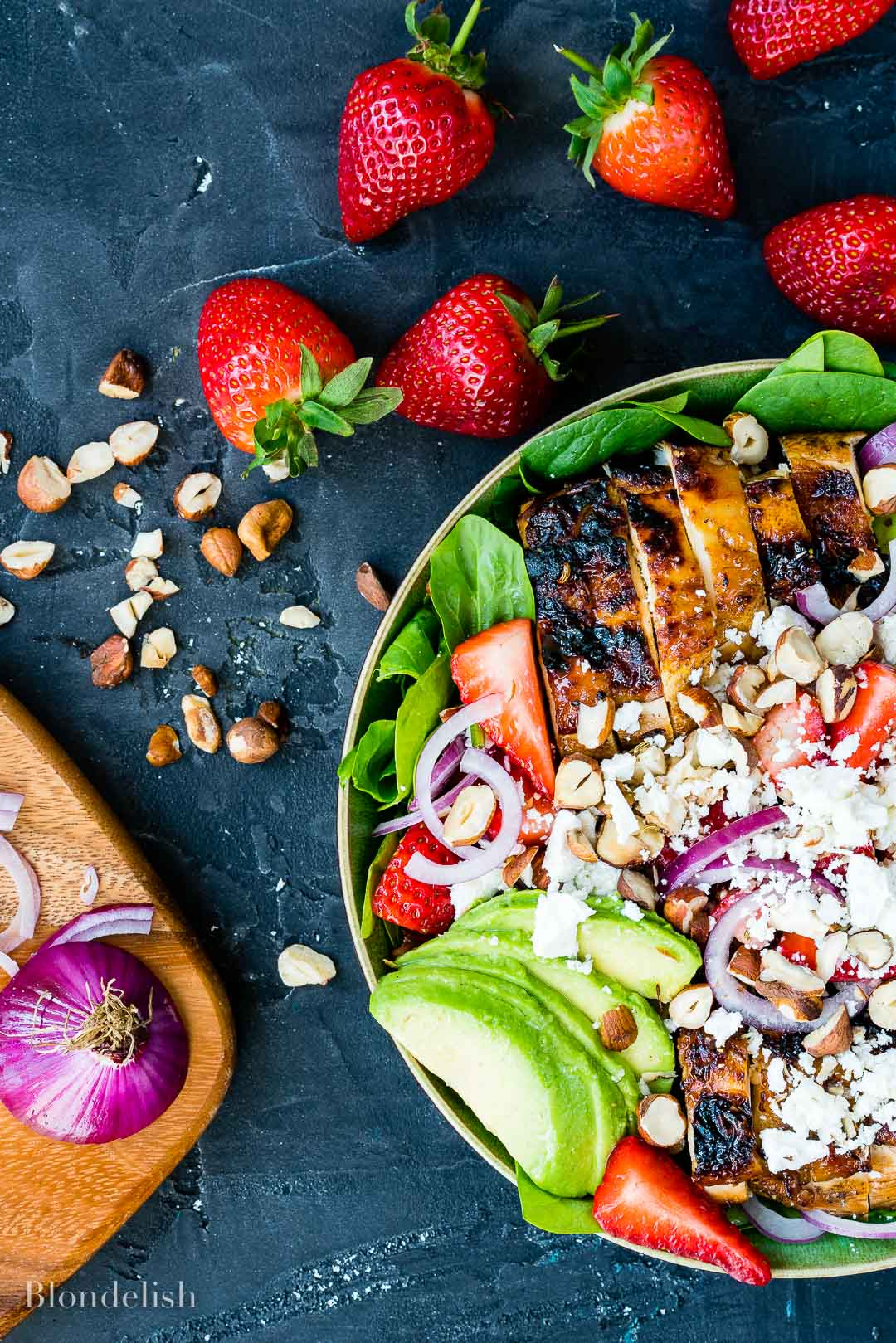 Best Strawberry and Avocado Chicken Salad Recipe 6 - How to make Chicken Salad