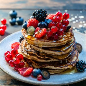 Banana Oatmeal Pancakes Recipe-7