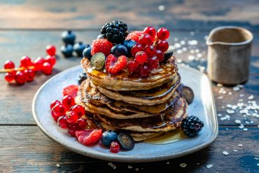 Banana Oatmeal Pancakes Recipe-8