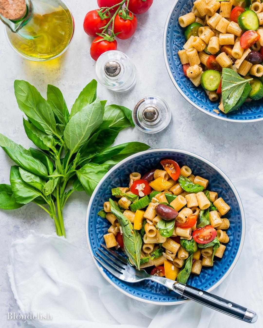 Reteta de Salata cu Paste si Legume 8