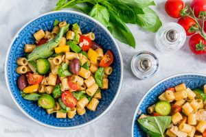 Healthy and Easy Mediterranean Pasta Salad Recipe 10