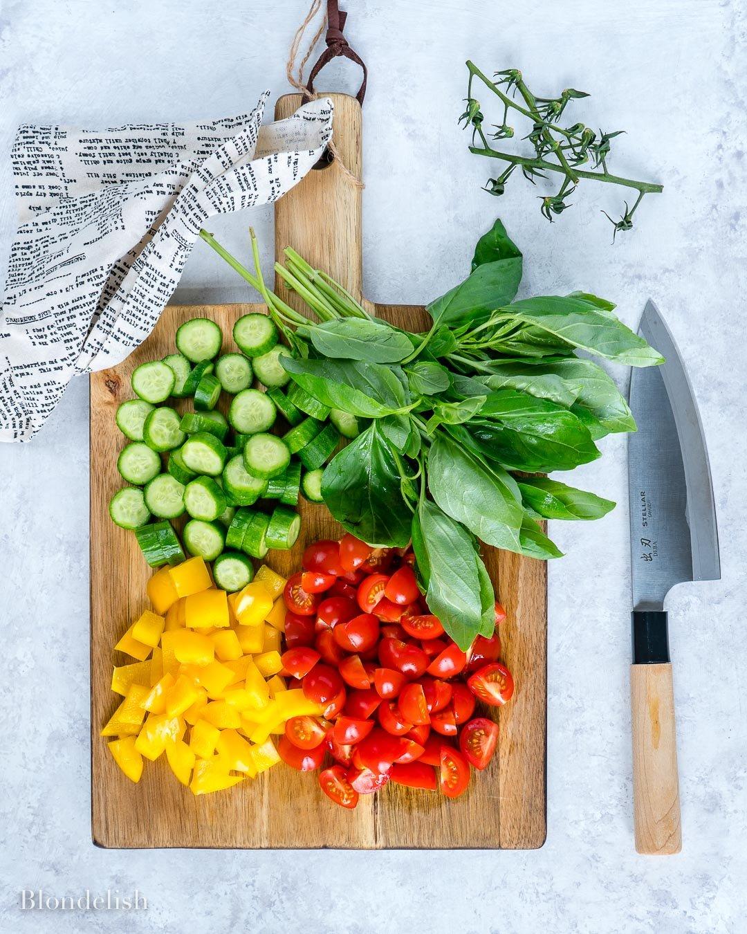 Reteta de Salata cu Paste si Legume