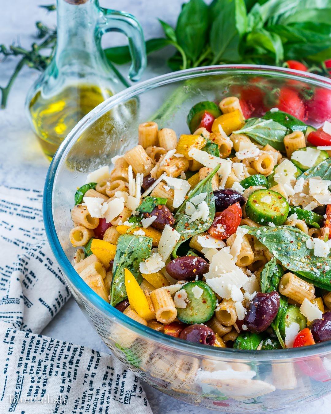 Reteta de Salata cu Paste si Legume 5