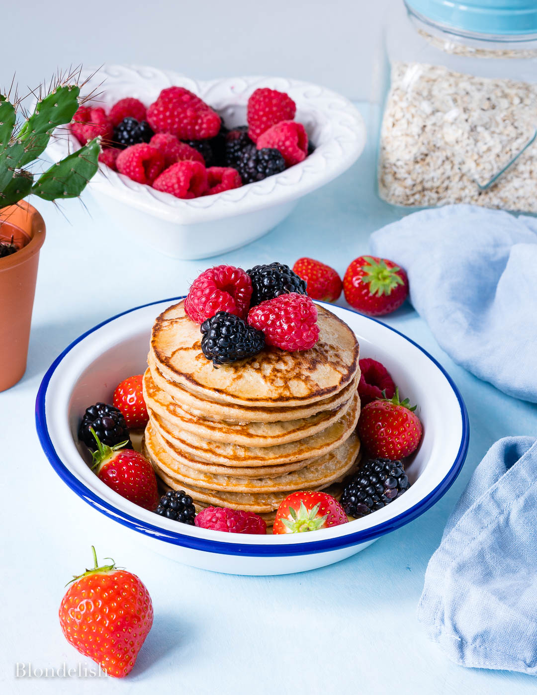 Easy Banana Oatmeal Pancakes Recipe 6