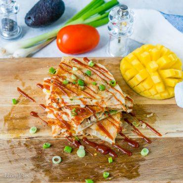 Best Cheesy Chicken Quesadilla Recipe 3