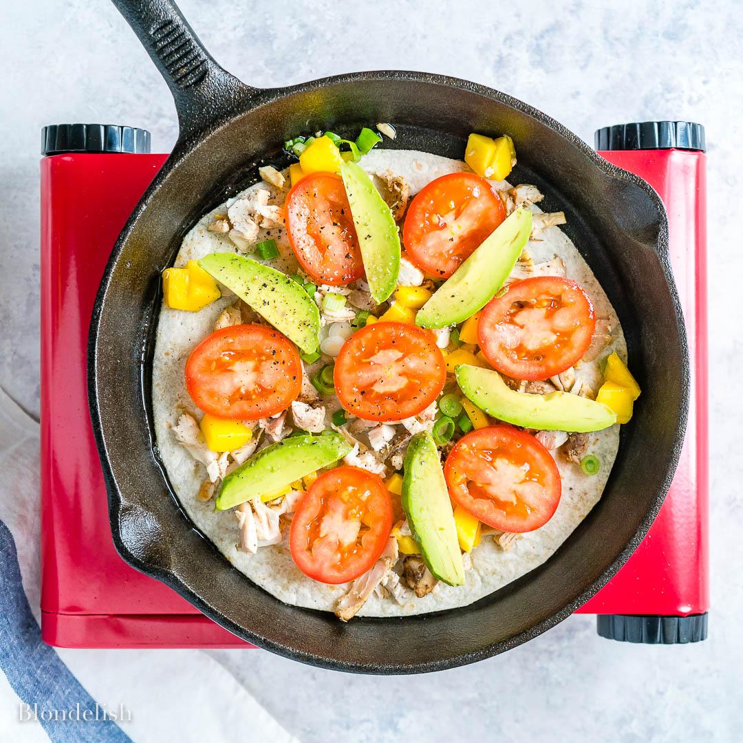 Easy Chicken Quesadilla Recipe - How to make Chicken Quesadillas