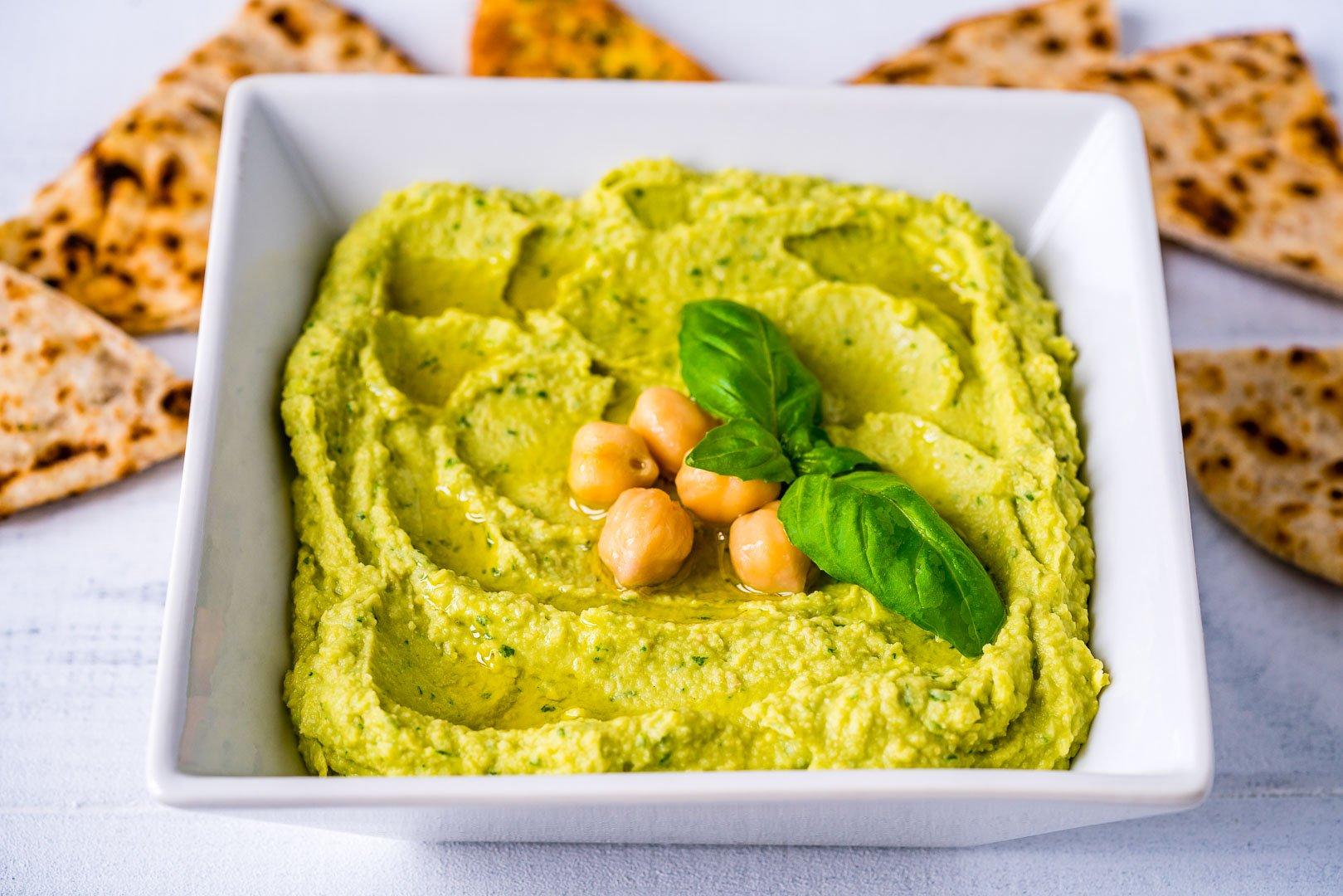 4 Retete de Hummus - Reteta de Hummus cu Avocado 1