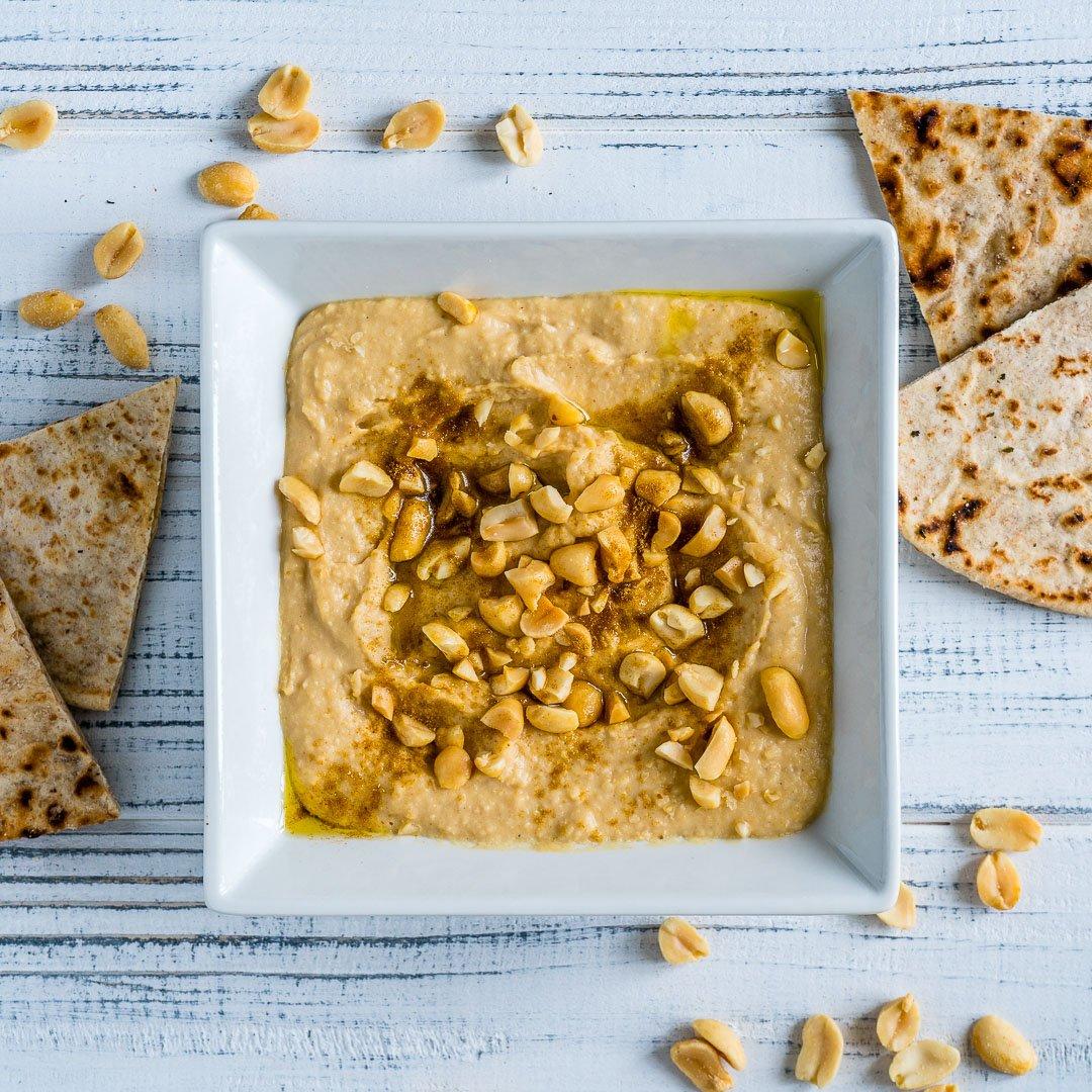 4 Retete de Hummus - Reteta de Hummus cu Unt de Arahide