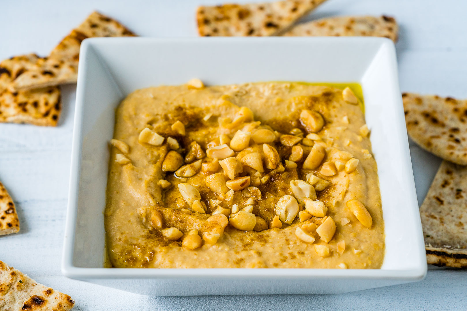 4 Retete de Hummus - Reteta de Hummus cu Unt de Arahide 1