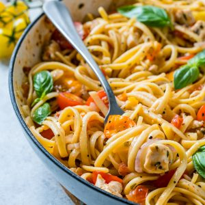 Bruschetta Chicken Pasta Recipe 13